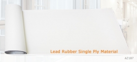 Lead Rubber Single-Layer  Material, AZ187