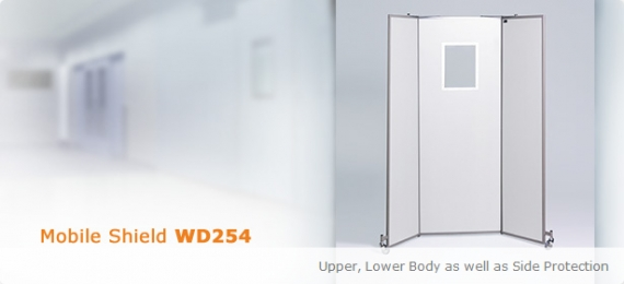 Mobile X-Ray Protective Shield WD254
