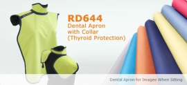 Dental Apron with Collar (Thyroid Protection) RD644