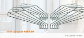 Wall System AW419-R / AW419-L