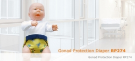 Gonad Protection Diaper RP274 (Set)