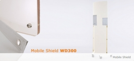 WD300 – Mobile X-Ray Protective Shield